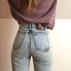 JORDACHE ACID vintage jeans 24-25